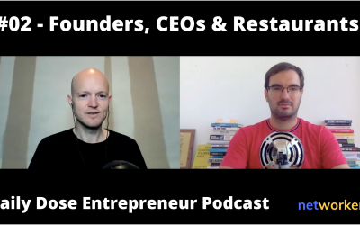 A CEO job, Product v Distribution Dilemma, Restaurants Transformation  – Daily Dose E2 Full