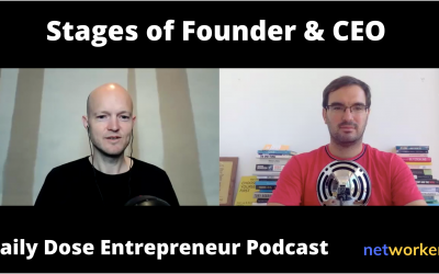 Stages of a Founder & CEO – When is the Right Time to Get Out of the Way? The Daily Dose Podcast