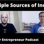 The Importance of Multiple Sources of Income  - Clip of Armchair Entrepreneur Podcast @ Networkers