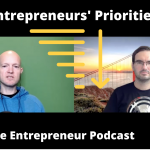 Order of Priorities for Start-up Entrepreneurs