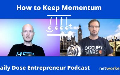 How to Keep Momentum When Working Hard